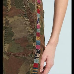 Anthropologie The Wanderer Camo Utility Pants
